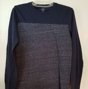 Old Navy Men's Small Navy Blue Long Sleeve